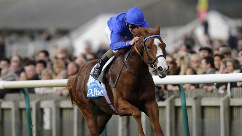 Dawn Approach will bid to raise the spirits of those in the Godolphin operation this weekend