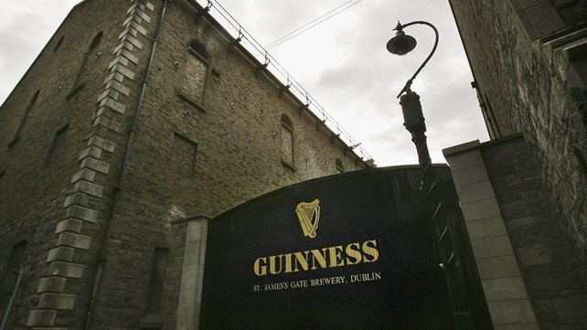 Diageo - best known in Ireland for its Guinness brand - makes a number of beers and spirits