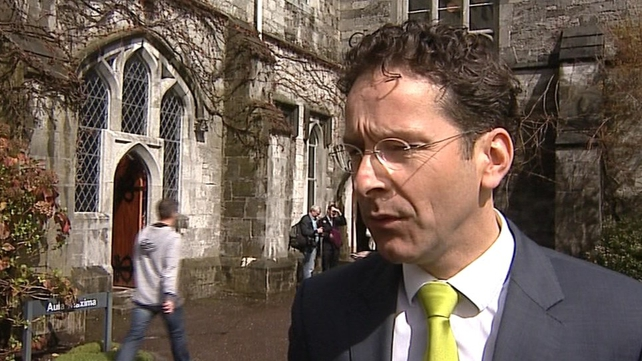 Eurogroup head Jeroen Dijsselbloem addressed the Cork conference