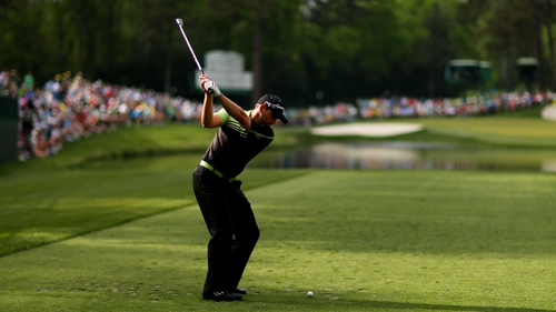 Sergio Garcia shares the lead after firing a 65