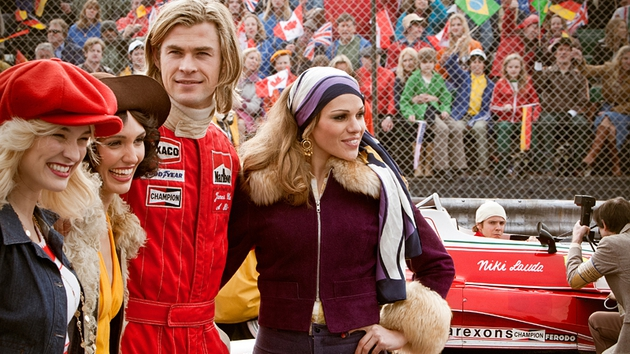 James Hunt in pole position to party