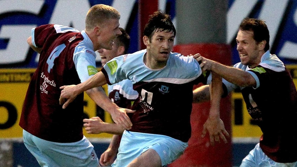 Gavin Brennan scored on the double for Drogheda
