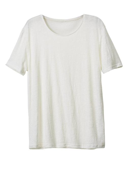 H&M plain scoop neck t-shirt, €9.95