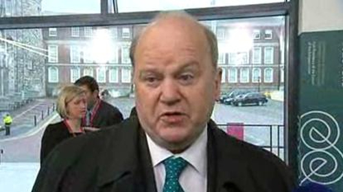 Michael Noonan said mistakes had been made refusing to allow losses to be imposed on senior bondholders