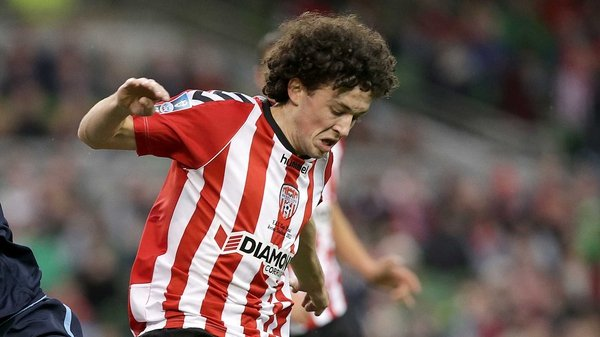 Barry McNamee gave the Candystripes a two-goal buffer at the Brandywell