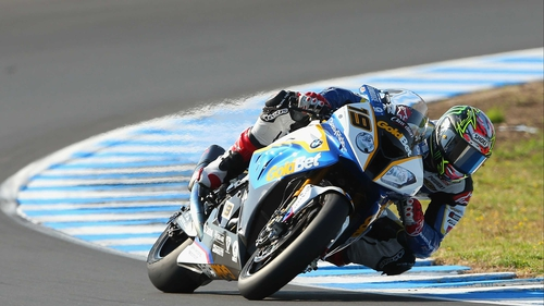 Chaz Davies won both races at the Spanish world superbike round