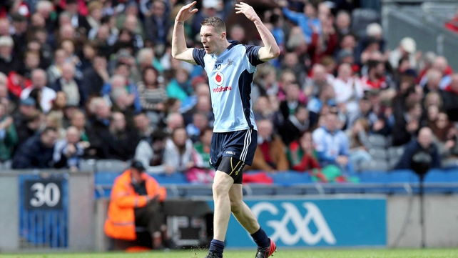 Jason Whelan scored a first-half goal for Dublin