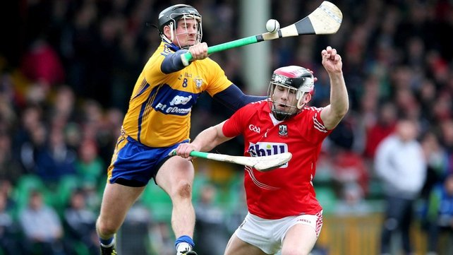 Cork's Paudie O'Sullivan in action against Clare during this season's league campaign