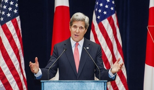 US Secretary of State John Kerry offered reassurance to US allies such as Japan and South Korea that the US was not going anywhere