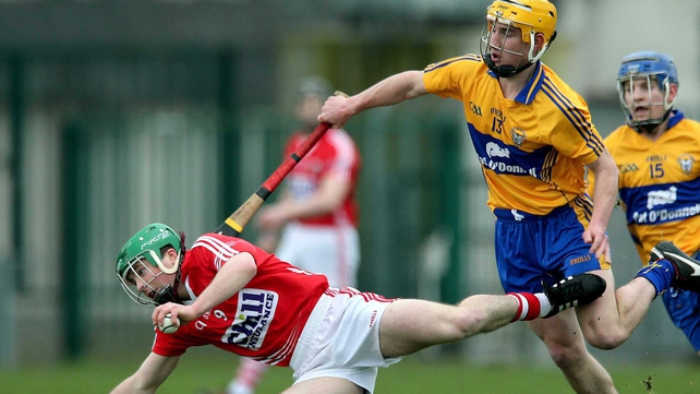 Colm Galvin (r): 'We knew we had the legs because of the training we'd done, it carried us over the line in the finish'