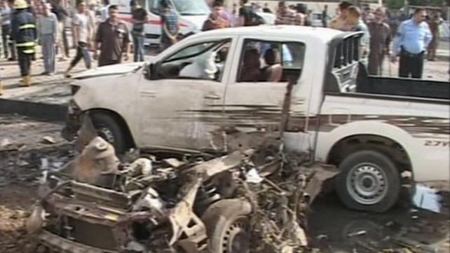 Police said nine people were killed in the city of Kirkuk