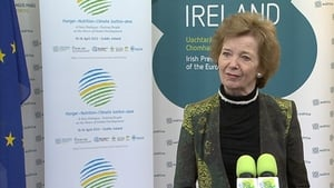 The conference is jointly organised by the Government and the Mary Robinson Foundation - Climate Justice
