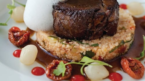 Neven Maguire's Braised Shoulder of Lamb with Mediterranean Couscous