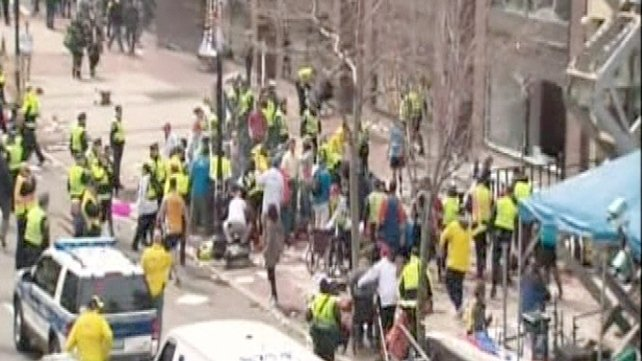 A number of people have been injured in two explosions in Boston