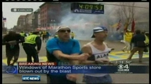 Explosions rock finish of Boston marathon