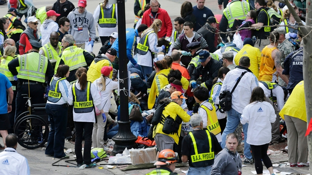 Three people were killed and over 140 injured in Monday's bombing at the Boston marathon
