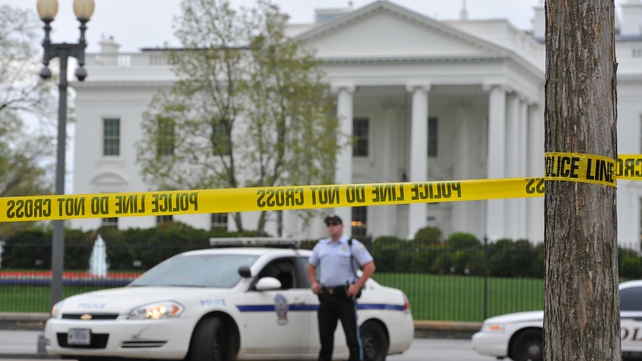 The White House was cordoned off in response to the attack
