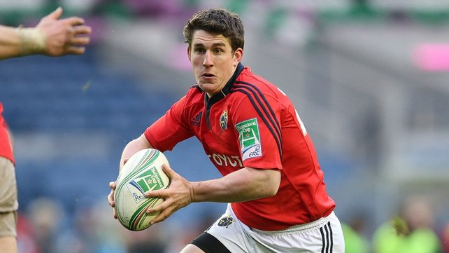 Ian Keatley is one of only three players to remain in the Munster side for tonight's trip to Wales