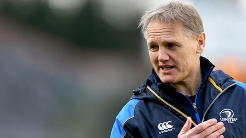 Joe Schmidt has been named Ireland head coach