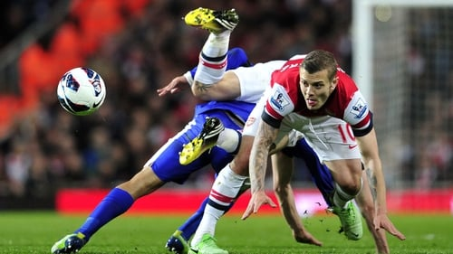 Everton shackled Jack Wilshire and the rest of the Arsenal attack