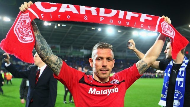 Craig Bellamy will return to the top flight with Malky Mackay's side next season