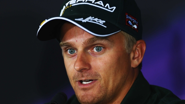 Heikki Kovalainen was without a team after six seasons in F1