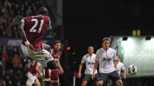 Mohamed Diame had put West Ham 2-1 ahead