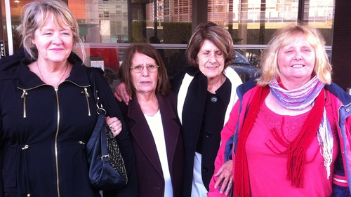 Members of the Magdalene Survivors Together group who met with Judge John Quirke