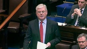 Tánaiste Eamon Gilmore met with political leaders in Northern Ireland