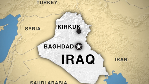 At least 27 people were killed inside a Baghdad cafe