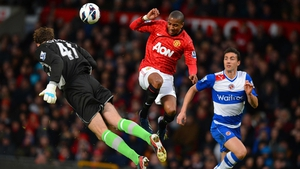 England and United winger Ashley Young