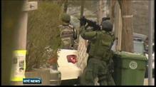 Massive manhunt in Boston for bomb suspect