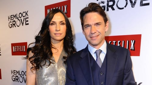 Famke Janssen and Dougray Scott return for the second season of Hemlock Grove