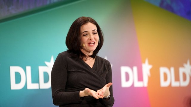 Sheryl Sandberg was in Dublin to promote a new edition of her book 'Lean-In'