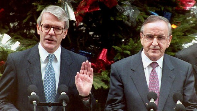 John Major said that without Mr Reynolds the peace process may never have started