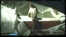Boston bomb suspect found hiding in boat