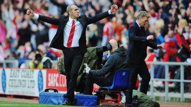 Paolo Di Canio's reign at Sunderland finished on Sunday