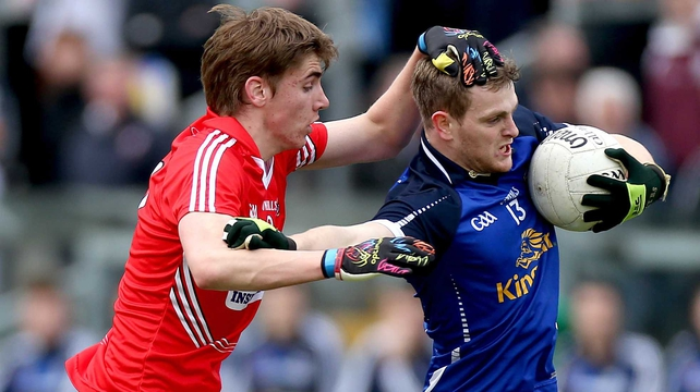 Cork edged out Cavan by a point in Tullamore