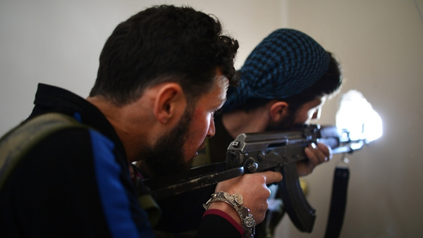 Syrian rebels wanted weapons and direct military intervention