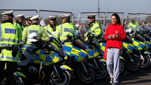 Organisers of the marathon have taken no chances and drafted in extra police
