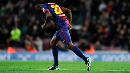 Eric Abidal played a full 90 minutes against Levante