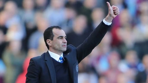 Roberto Martinez insists it's too early to speak of Everton as title hopefuls