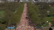 Boston victims remembered at London Marathon