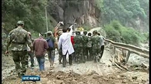 Search for survivors of Chinese earthquake