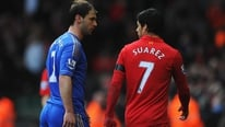 Watch RTÉ analysts John Giles and Richie Sadlier give their view on Liverpool striker Luis Suarez' biting of Chelsea's Branislav Ivanovic