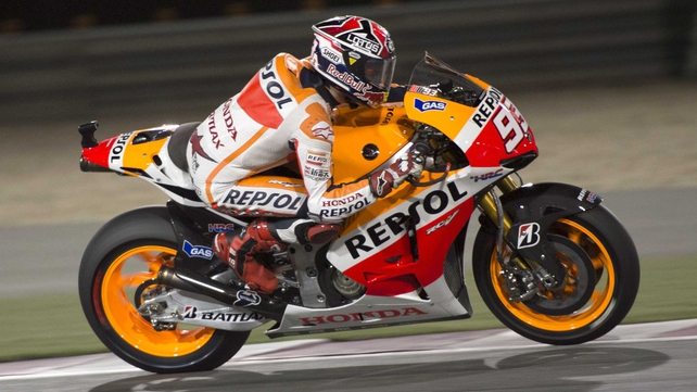 Marc Marquez is the youngest ever ridder to win a MotoGP