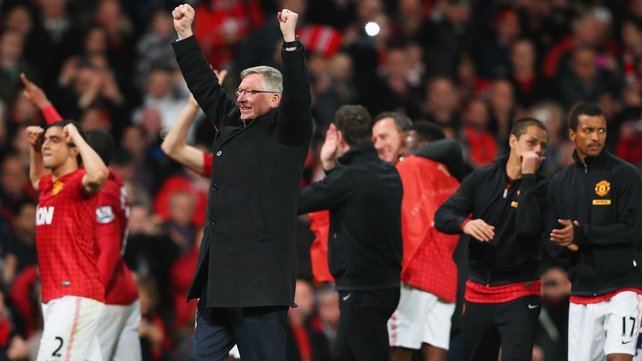Ferguson won 13 league titles with United