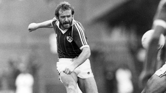 Tony Grealish was an integral part of Eoin Hand's Ireland squad