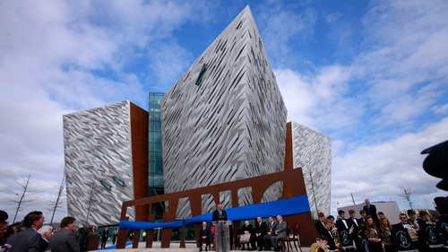 The Titanic centre opened on the centenary of the sinking of the liner