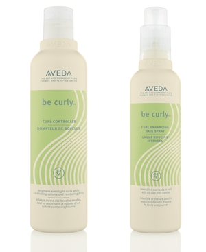 Aveda Be Curly Curl Controller and Enhancing Hair Spray